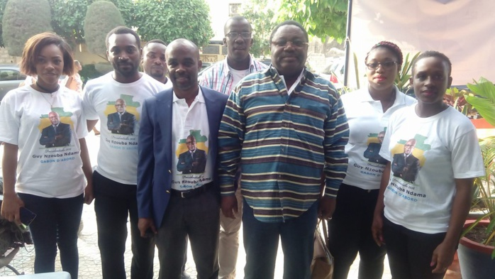 Présidentielle Gabonaise : L'opposition déroule à Dakar