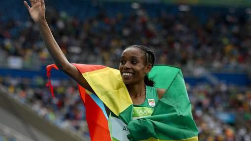 JO : Almaz Ayana pulvérise le record du monde du 10.000 m