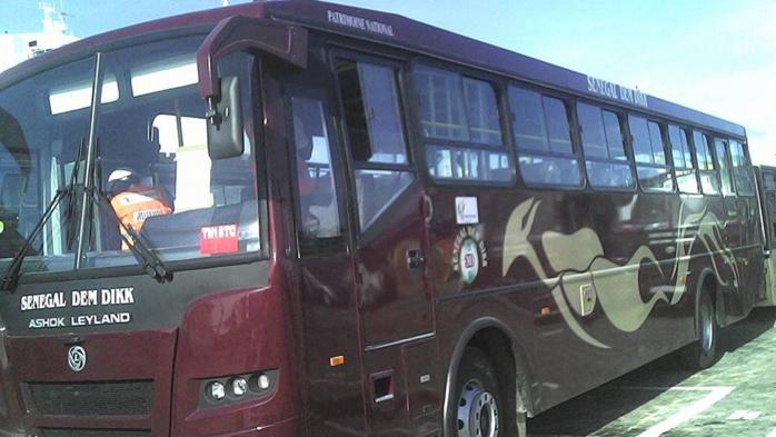 Grève des transporteurs : Un bus DDD saccagé, une plainte contre X brandie