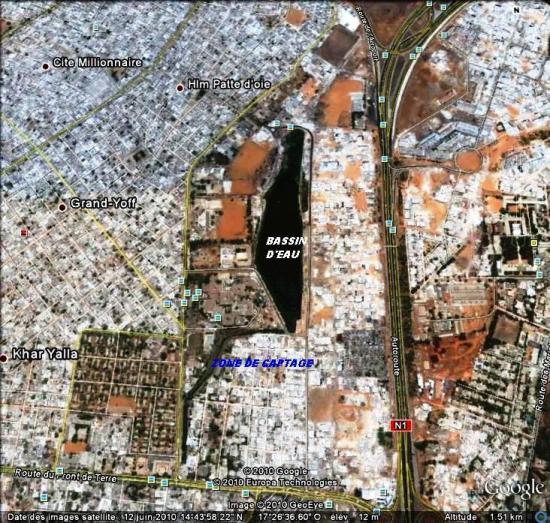 ZONE DE CAPTAGE : Un quartier, une histoire, un bassin de rétention