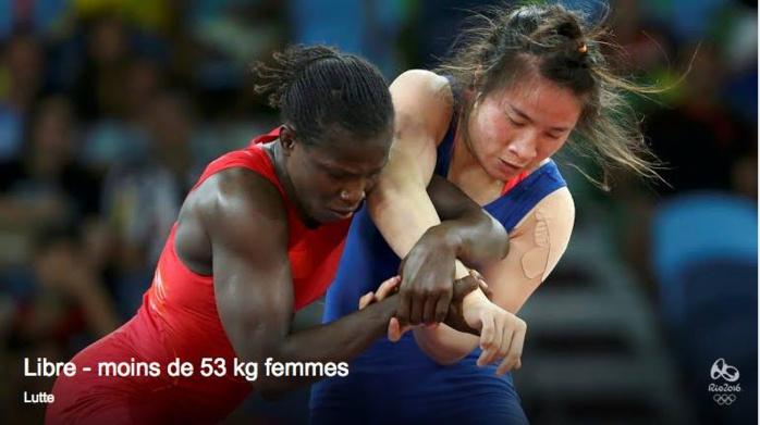 JO 2016 / Lutte : Isabelle Sambou éliminée en Quart de finale