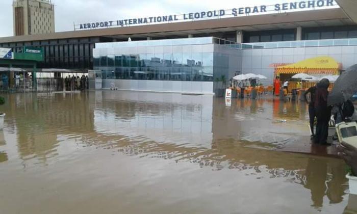 L'image dégradante de l'aéroport Léopold Senghor! Faut il désespérer du Sénégal et de notre laxisme et irresponsabilité?