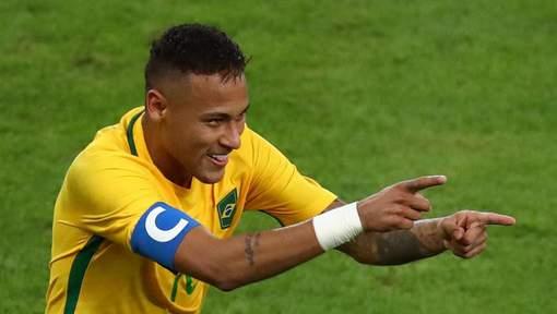 Neymar offre la première médaille d'or de son histoire au football brésilien!