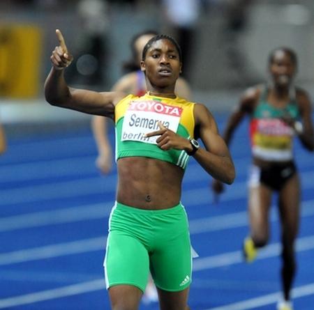 RIO 2016 : Caster Semenya la championne Olympique du 800m soupçonnée d'être un homme