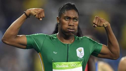 """Étonnant : Les médailles du 800m aux trois athlètes """"testostéronées"""""""