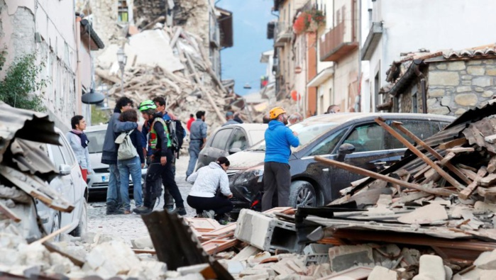 Séisme en Italie : au moins 120 morts d'après Matteo Renzi