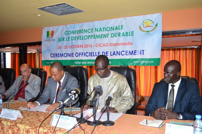 Suivi optimal de la gouvernance du développement durable : Le Ministre de l'Environnement propose la création d'un Cadre Stratégique national