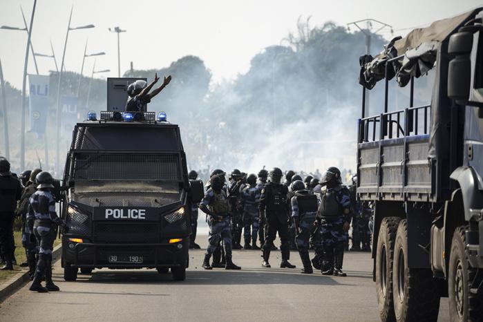 GABON : Des affrontements éclatent à Libreville après l'annonce de la réélection de Bongo