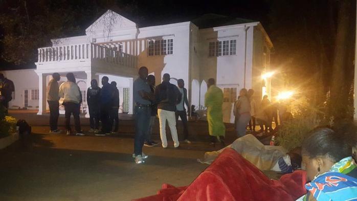 Les Gabonais vivant en Afrique du Sud ont décidé d'envahir leur ambassade jusqu'au départ d'Ali Bongo