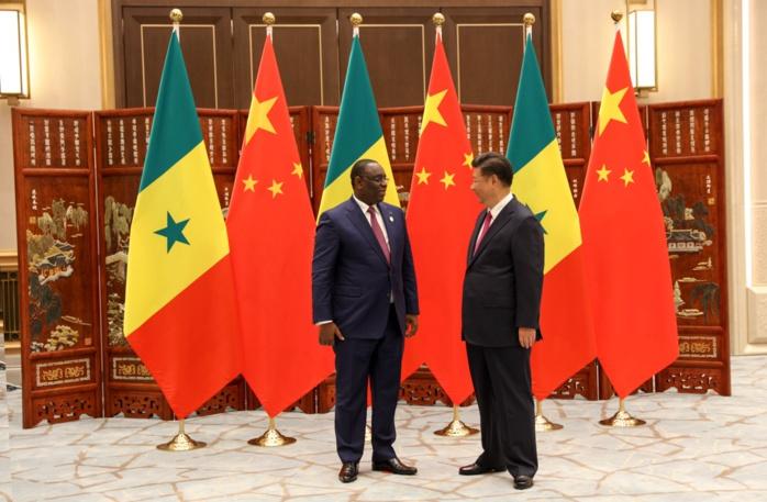 Xi Jinping félicite le président Sall pour son engagement en faveur de l'intégration africaine