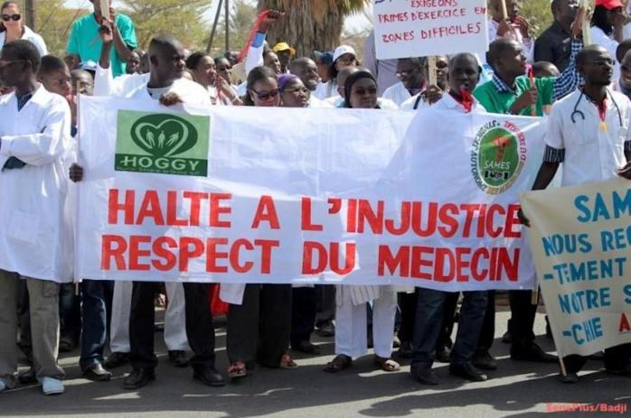 Secteur de la santé : Des syndicats menacent d'aller en grève et projettent une marche de protestation nationale