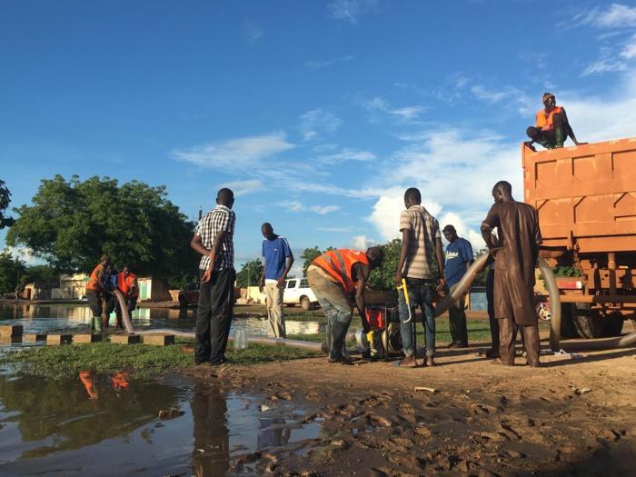 INONDATIONS A BAMBEY - Les Chinois de « Ila'a Touba » à la rescousse des sinistrés