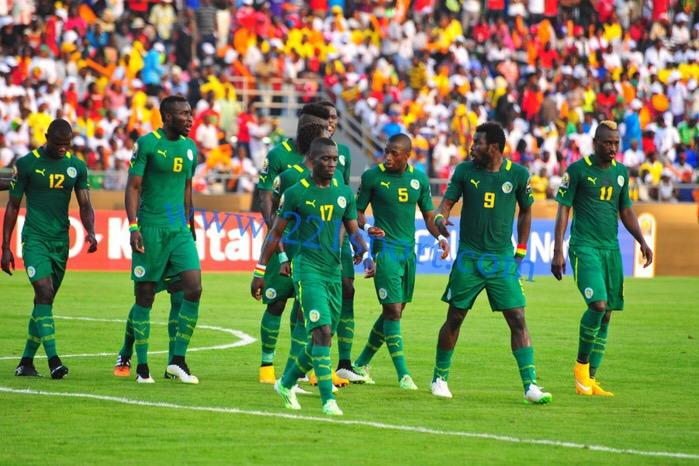 Le onze de départ des Lions face à la Namibie