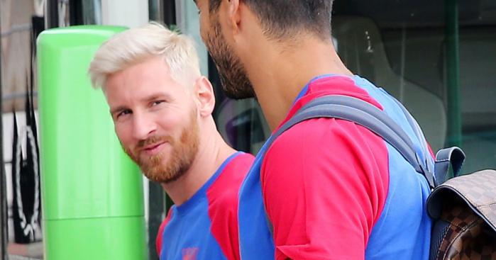 Pourquoi Messi est devenu blond
