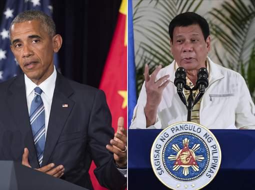 Le président philippin assure regretter d'avoir traité Obama de fils de pute