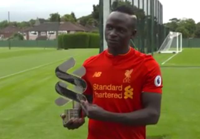PREMIER LEAGUE : Sadio Mané, joueur du mois d'août à Liverpool