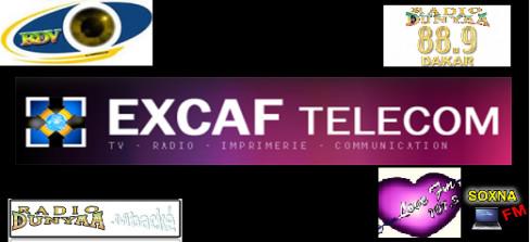 5 MOIS D'ARRIÉRÉS DE SALAIRE : Les travailleurs d'Excaf Telecom bloquent l'entrée de l'immeuble