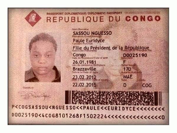 Fonction : Fille du Président de la République Sassou Nguesso