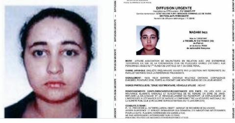 Voiture piégée à Paris : Ines Madani voulait venger la mort d'al-Adnani