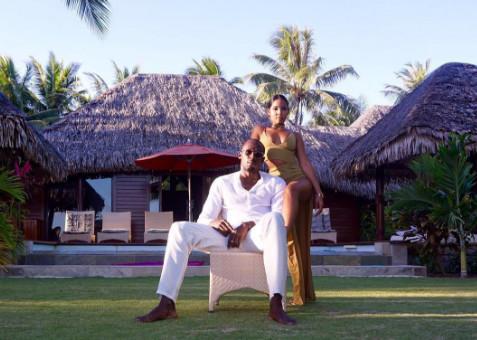 Tout est pardonné : Usain Bolt et Kasi filent le parfait amour à Bora Bora