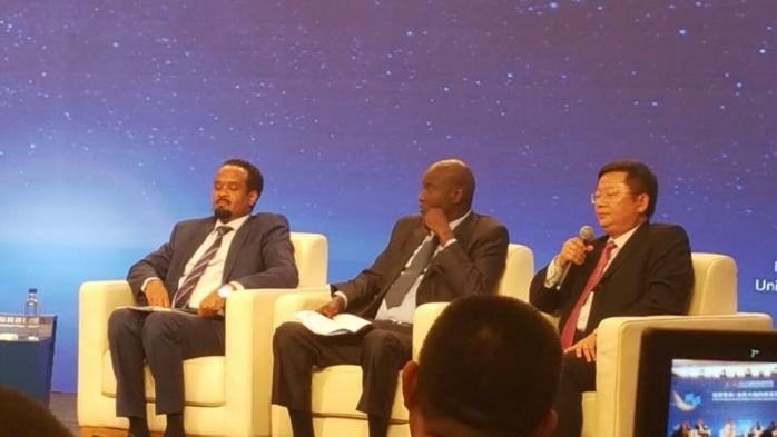 CHINE -  Le Ministre Aly N'gouille N'diaye a représenté le Premier Ministre au China International Fair and Trade 2016