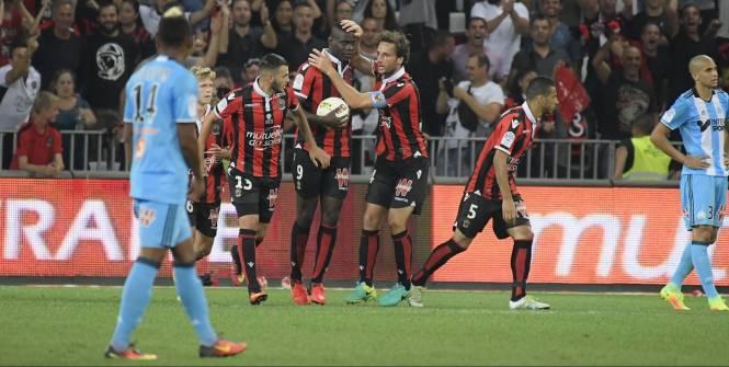 Nice renverse Marseille avec un doublé de Balotelli