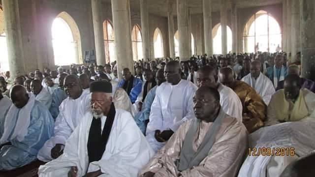 PRIÈRE DE L'AID-EL-KEBIR AVEC LE KHALIFE GÉNÉRAL DES MOURIDES EN IMAGES À TOUBA