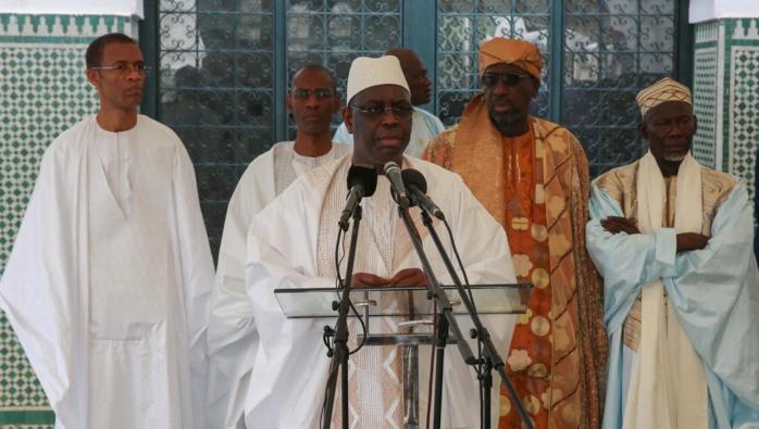 Images : Prière de Tabaski à la grande mosquée de Dakar