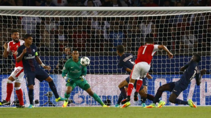 Ligue des champions : dominateur mais maladroit, le PSG a été accroché par Arsenal