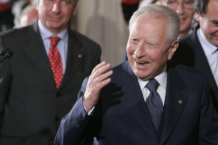 L'ancien président italien Carlo Azeglio Ciampi est mort