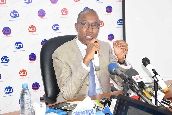Le bureau politique de l'ACT analyse l'actualité du pays et rappelle au Gouvernement ses obligations à l'endroit des populations