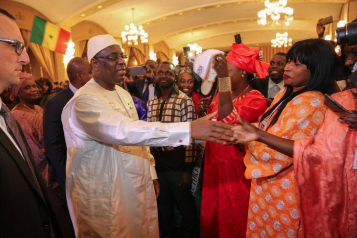 IMAGES : Le président Macky Sall rencontre les Sénégalais vivant au Canada