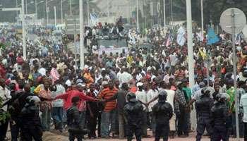 RDC: 17 policiers  et 14 civils tués à Kinshasa