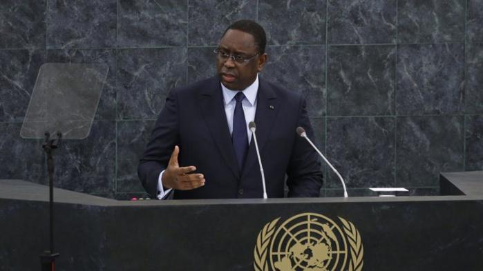 Allocution de SEM Macky Sall, Président de la République du Sénégal, au débat de haut niveau sur la gestion des déplacements massifs de réfugiés et de migrants