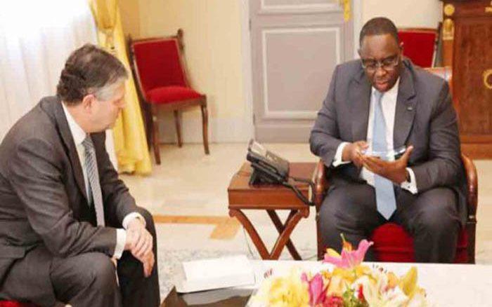 PÉTROLE : Le président Macky Sall reçoit Andy Inglis, le patron de Kosmos Energy à NEW YORK