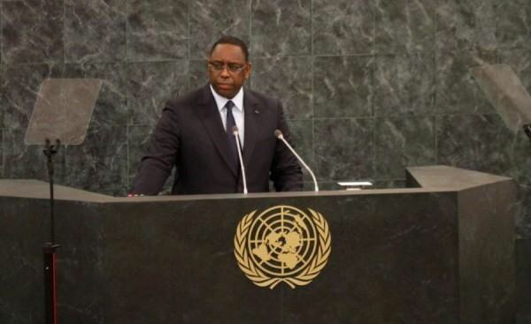 DISCOURS DE SEM MACKY SALL, PRESIDENT DE LA REPUBLIQUE DU SENEGAL, AU DEBAT GENERAL DE LA 71eme SESSION DE L'ASSEMBLEE GENERALE DES NATIONS UNIES