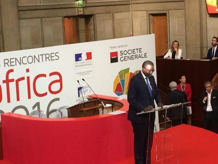 Coup d'envoi du forum d'affaires Afrique/France à Paris