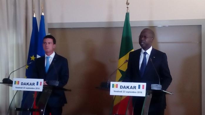 Lutte contre le terrorisme : La France entend être un partenaire de référence du Sénégal (Manuel Valls)