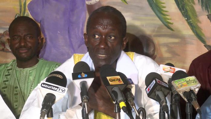 MAGAL DE DAROU KHOUDOSS -  Serigne Cheikh Aliou confiant du respect des engagements de l'Etat