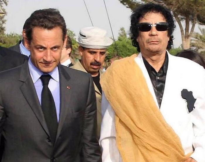 LIBYE : Sarkozy est mal barré... Trois versements de 6, 5 millions d'euros retrouvés.
