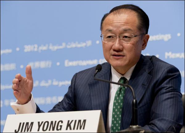 L'américain Jim Yong Kim unanimement reconduit pour 5 ans à la tête de la Banque mondiale