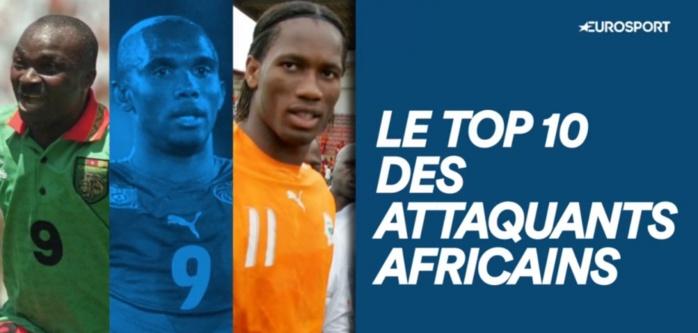 Eto'o meilleur attaquant africain de tous les temps, Weah et Drogba complètent le podium, Milla 4e