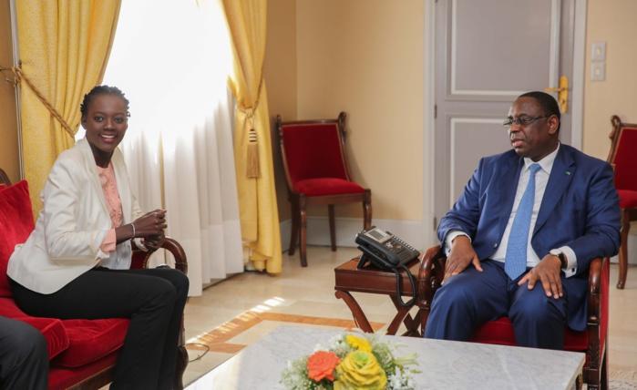 AUDIENCE : Rama Yade reçue au palais par le Président Macky Sall