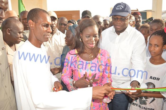 Les images de l' inauguration de la Case des Tout Petits de Boké Dialloubé ( FOUTA )