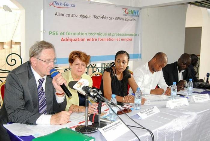 Des programmes de renforcement de capacités et des services conseils offerts aux structures publiques et privées sénégalaises