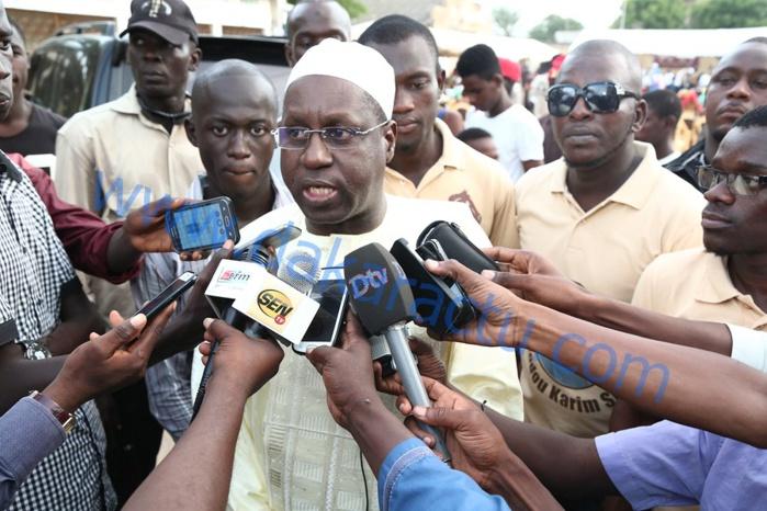 """Abdou Karim Sall : """"L'opposition n'existe que par des combines et des combinaisons qui changent au gré du vent (...) Les élections doivent être poussées de deux ou de trois mois pour permettre à tous les sénégalais de s'inscrire"""""""