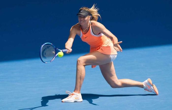 Sharapova de retour sur les courts