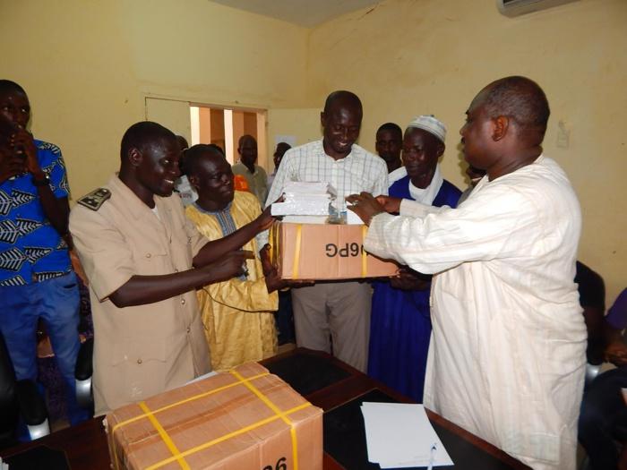 SPORT/ÉDUCATION : Farba  N'GOM au service des enseignants et Associations sportives et culturelles de sa commune