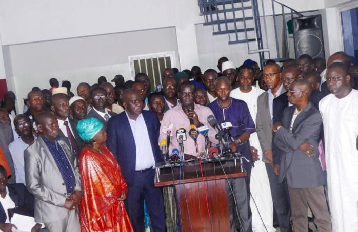 Après la marche du 14 : L'opposition annonce des plaintes à Dakar, Abuja, Londres et New York.