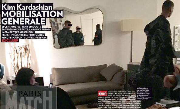 Kim Kardashian : Les premières images juste après son agression à Paris dévoilées